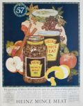 1924 Heinz Mince Meat Ad ~ The Goodness of What Goes Into It
