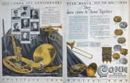 1925 Conn Band Instruments Ad ~ 50th Anniversary