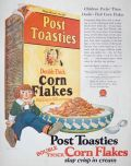 1925 Double Thick Post Toasties Ad ~ Raggedy Andy