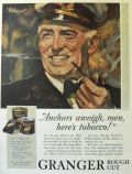 "1931 Granger Tobacco Ad ~ ""Anchors Aweigh!"""