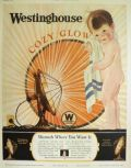1925 Westinghouse Cozy Glow Heater Ad ~ Lucile Patterson Marsh