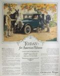 1926 Overland Whippet Ad ~ For American Women