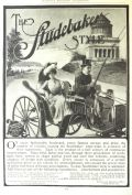 1902 Studebaker Horse Carriage Ad ~ Riverside Drive, NYC