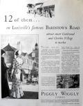 1930 Piggly Wiggly Stores Ad ~ Bardstown Road, Louisville, Ky