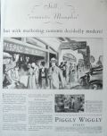 1930 Piggly Wiggly Stores Ad ~ Romantic Memphis