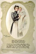 1899 Ivory Soap Ad in Color ~ Irving Wiles