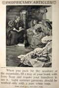1897 Ivory Soap Ad ~ Require Your Laundress to Use It