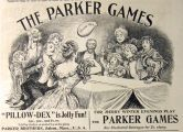 1897 Parker Games Ad ~ Pillow Dex