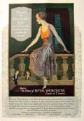 1924 Royal Worcester Corset Ad ~ Edward Eggleston