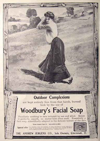 Not Woodbury facial soap good result
