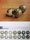 1967 Amco Shift Knobs Ad ~ Work of Art in Your Car