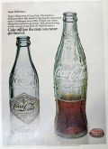 1968 Coca Cola Coke Ad ~ Antique Bottle