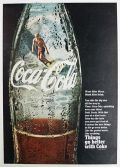 1968 Coca Cola Coke Ad ~ Surfer