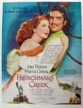 1945 Movie Ad ~ Frenchman's Creek ~ Joan Fontaine