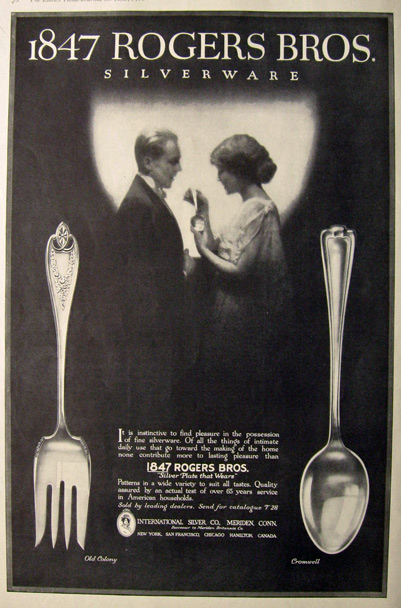 Unloved Antiques: 1847 Rogers Brothers Flatware | WorthPoint
