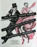1949 Barkleys of Broadway Movie Ad ~ Fred & Ginger
