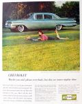 1959 Chevy Biscayne Ad ~ 4-Door Sedan