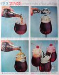 1961 Coca Cola Coke Ad ~ Coke Float