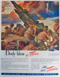 1943 WWII Fisher Armament Ad ~ 90mm Anti-Aircraft Gun