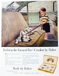 1951 Body by Fisher Ad ~ Dalmatian Dog
