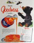 1958 Karo Syrup Ad ~ Little Bear