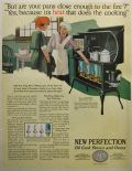 1921 New Perfection Oil Cook Stoves & Ovens Ad