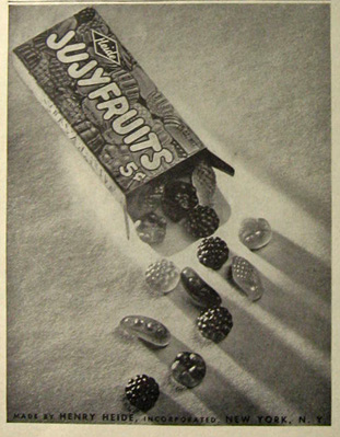 1948 Vintage Jujyfruits Candy Ad