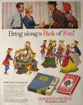 1955 Congress & Bicycle Playing Cards Ad