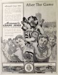 1914 Armour's Grape Juice Ad ~ After the Game