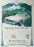1978 Beverly Hills Ltd. Mercedes Benz Ad