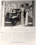 1932 Chevy Six Ad ~ Two Cars