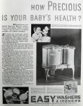 1932 Easy Washing Machine Ad ~ Baby's Health