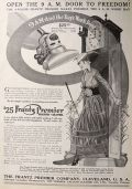 1915 Frantz Premier Electric Vacuum Cleaner Ad