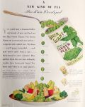 1932 Green Giant Big Tender Peas Ad ~ A New Kind of Pea