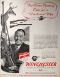 1950 Winchester Game Rifle Ad ~ Model 70