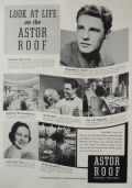 1937 Hotel Astor Ad ~ Astor Roof ~ Ozzie Nelson