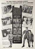1937 Prince & The Pauper Movie Ad ~ Errol Flynn