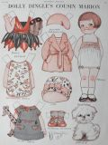 1929 Dolly Dingle Paper Dolls ~ Cousin Marion