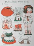 1932 Dolly Dingle Paper Dolls ~ Dolly's World Flight in Holland