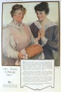 1917 Bemis Bags Ad ~ Baking Day!