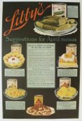 1917 Libby's Canned Food Ad ~ April Recipes