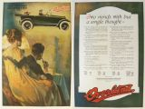 1917 Willys Overland Ad ~ Two Minds with a Single Thought