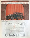 1927 Chandler Royal Eight Car Ad ~ Magnificent