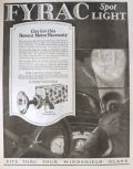 1923 Fyrac Automobile Car Spotlight Ad