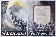 1924 Paramount Pictures Ad ~ Movie Scenes