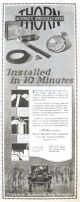 1924 Vintage Thorn Windshield Wiper Ad ~ Installed in 10 Minutes
