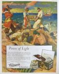 1927 Whitman's Candy Ad ~ Peter Hurd ~ Pirates