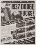 1937 Dodge Trucks Ad ~ Old Truck Photos