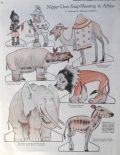 1925 Cut-Outs Paper Dolls ~ Nipper Photographs African Animals