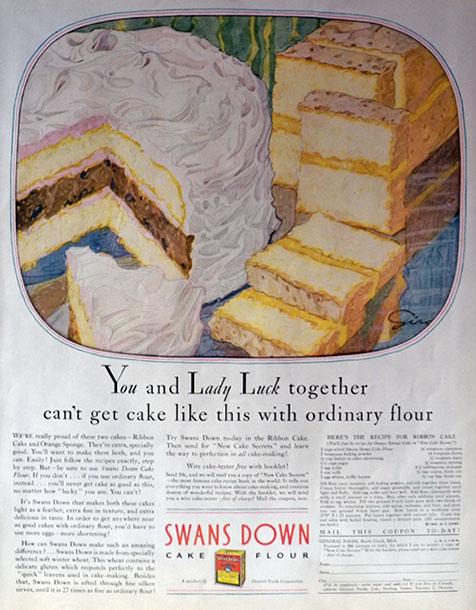 Swan Cake Flour Recipes